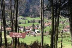 Tiefenbach von oben